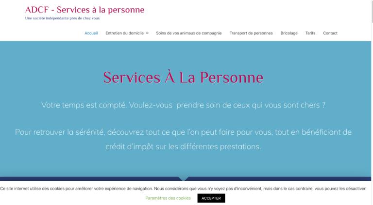 LeSite.Online références - ADCF Services 95