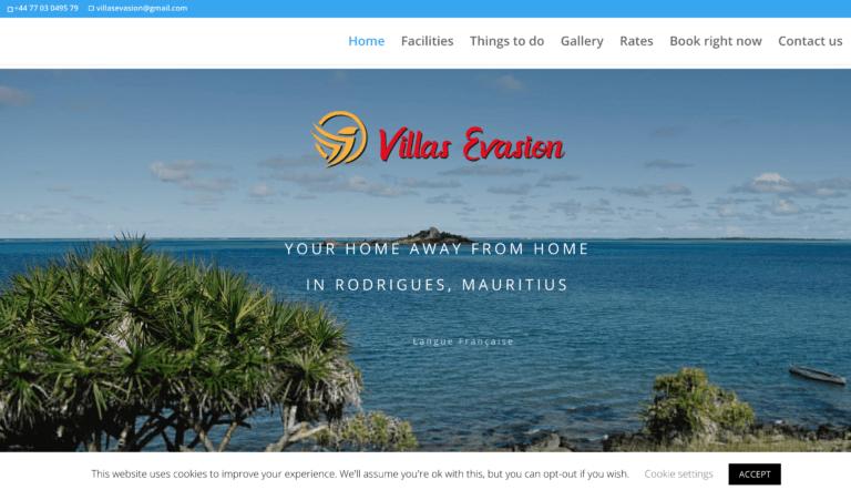 LeSite.Online références - Villas Evasion
